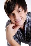 Happy smiling beautiful  man Stock Image