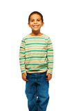 Cute black 5 years old boy Stock Images