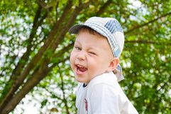 Happy smiling boy Royalty Free Stock Photos