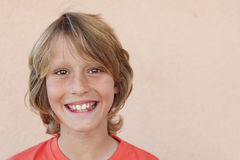 Happy smiling boy child Stock Photo