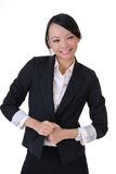 Happy smiling business lady Royalty Free Stock Photography