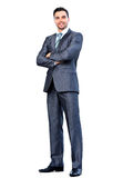 Happy smiling business man Royalty Free Stock Photos