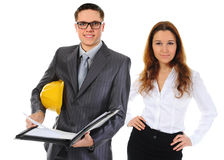 Happy smiling business team Stock Images