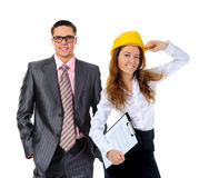 Happy smiling business team Stock Image