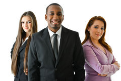Happy Smiling Business Team. Happy smiling successful business team Royalty Free Stock Photos