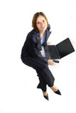 Happy smiling Business woman stock images
