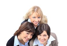 Happy smiling business women Stock Photography