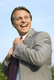 Happy smiling businessman. Royalty Free Stock Images