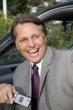 Happy smiling businessman. Royalty Free Stock Photography