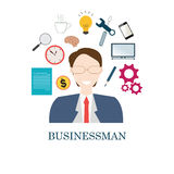 Happy smiling businessman. Stock Photography
