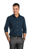 Happy Smiling Businessman Stock Photo