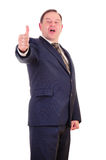 Happy smiling businessman Royalty Free Stock Image