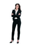Happy smiling businesswoman Royalty Free Stock Photography