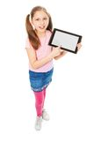 Look at this tablet computer Stock Photography
