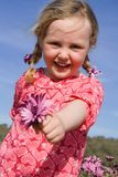 Happy smiling child Royalty Free Stock Image