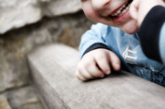 Happy smiling child Stock Images