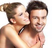 Happy smiling couple Stock Photo