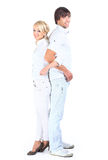 Happy smiling couple Stock Photography