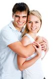 Happy smiling couple Royalty Free Stock Photos