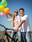 Happy smiling couple Royalty Free Stock Photo