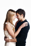 Happy Smiling Couple In Love. Stock Images