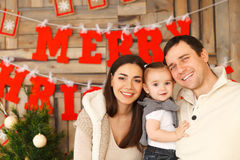 Happy smiling family Royalty Free Stock Photo