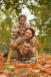 Happy smiling family Stock Image