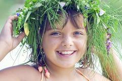 Happy smiling girl 2 Stock Photos
