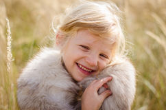 Happy smiling girl Stock Images