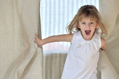 Happy smiling little girl Royalty Free Stock Photography