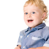 Happy smiling little kid Stock Images