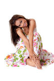 Happy smiling malay young woman Royalty Free Stock Images