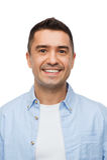 Happy smiling man Stock Image