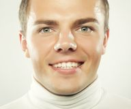 Happy smiling man, Royalty Free Stock Photo