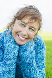 Happy smiling mature woman. Stock Photography