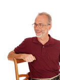 Happy smiling middle age man. Royalty Free Stock Images