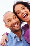 Happy smiling middle-aged couple Stock Photography
