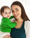 Happy smiling mother with daughter Royalty Free Stock Photo