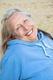 Happy smiling older woman Royalty Free Stock Photos