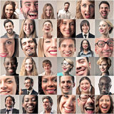 Happy smiling people Royalty Free Stock Image