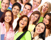 Happy smiling people Royalty Free Stock Photography