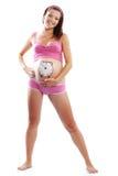 Happy smiling pregnant Royalty Free Stock Photo