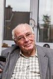 Happy smiling senior man Stock Images