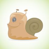 Happy smiling snail Royalty Free Stock Photo
