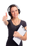 Happy smiling student Royalty Free Stock Image