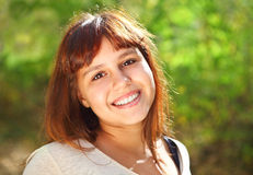 Happy smiling teen girl Royalty Free Stock Photo