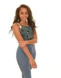 Happy, smiling teen girl Stock Image