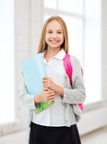 Happy and smiling teenage girl Royalty Free Stock Photos