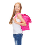 Happy and smiling teenage girl Royalty Free Stock Photography