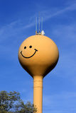 Happy Smiling Water Tower Stock Image
